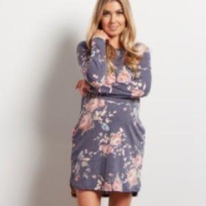 Pinkblush Dresses - Pink Blush Maternity floral dress